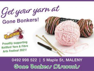 GoneBonkers Knitfest 2021 Ad WEB